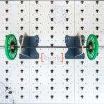 Rack squat bench press